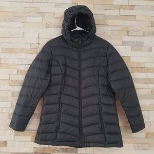 North Face Womens Large Down Puffer Parka Jacket L